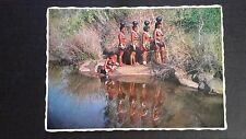 CPSM DAILY STAK ZULU GIRIS COLLECTING WATER VALLEY... AFRIQUE DU SUD