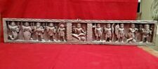 Antique Vishnu Dashavatar Wall Panel Hindu Temple Statue Sculpture Home Decor UK