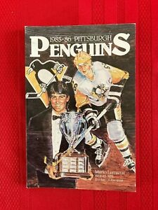 1985-1986 NHL Pittsburgh Penguins media guide / Bullard / Lemieux second season