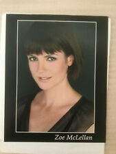 Zoe McLellan #3, original vintage headshot photo with credits training