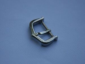 16mm CARTIER STAINLESS STEEL TANG WATCH STRAP PIN BUCKLE