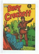 Page Publications Fearless Davy Crockett #9 VF 1960's Australian