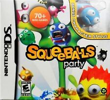Squeeballs Party + Character Stylus DS - Bundle
