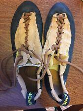 La Sportiva Mythos Mens Rock Climbing Shoes 44 (M10.5) Gently Used