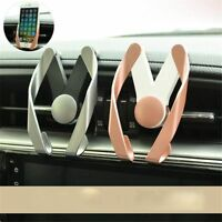 Stand Flexible Air Vent Mount Car Mobile Phone Holder GPS Bracket M Type
