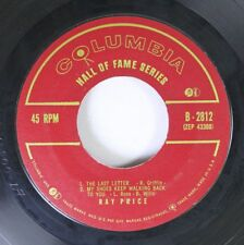 Country 45 Ray Price - The Last Letter / My Shoes Keep Walking Back To You On Co