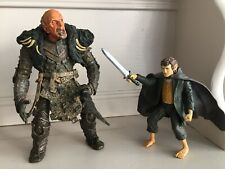 """LORD OF THE RINGS - 7"""" GRISHNAKH & MERRY ACTION FIGURES BY TOYBIZ GREAT ITEM"""