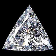 5.4mm VS Reinheit Trilliantschliff Facetten Natürlicher afrikanischer Diamant (