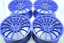 17 blue Wheels Rims Civic RAV4 Highlander Matrix Legacy Soul Sportage iM 5x114.3