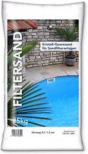 NWN Filtersand 0,7 - 1,2 mm Quarzsand für Sandfilteranlage Poolfilter 25 kg