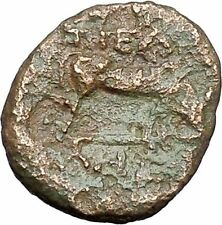 Pella in Macedonia 158BC Ancient Greek Coin BULL Athena  War Magic i47569