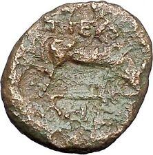 Pella in Macedonia 158BC Ancient Greek Coin BULL Athena  War Magic i47569