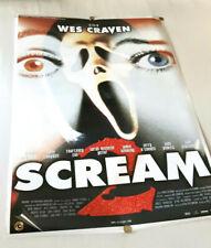 """Vintage SCREAM 2 Movie Poster (W 28"""" x L 39"""") Wes Craven - N MINT 1997 Original"""