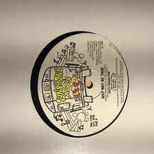 Jimmy Spicer Luv's Foundation- Super Rhyme/Why Not Be True- Sunshine Music