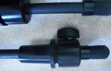 DOUBLE bass END PIN, in fibra di carbonio, forte e durevole, Nizza qualità, UK Venditore!