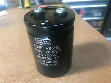 Nippon Chemi-Con RWE 400V 2000uF Capacitor FAST SHIPPING