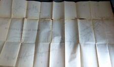 FOUREAU Le grand Erg SAHARA Carte ALGERIE TUNISIE VOYAGES EXPEDITIONS RARE 1896