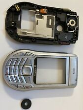 REPLACEMENT FRONT FASCIA & BACK COVER HOUSING & KEYPAD - NOKIA 6630 - SILVERUsed