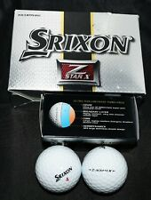 6 Srixon Z Star X Golf Balls 2010 Club Champion Nib