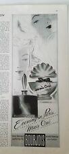 1940 Bourjois Evening in Paris Mais Oui perfume bottles bottle ad