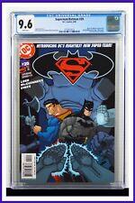 Superman Batman #20 CGC Graded 9.6 DC June 2005 White Pages Comic Book.