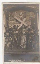 Stations Of The Cross no.2, Hoar Cross, Simnet RP Postcard, B338