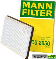 Cabin Filter fits Volvo 850 93-97 C70 98-04 S70 V70 98-00 MANN CU2650 9488527