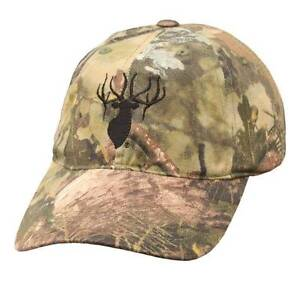 Kings Camo Classic Cotton Embroidered Hunting Cap Hat Mountain Shadow