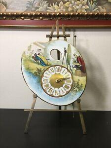 John A. Mies Reproduction Porcelain Palette Limited Edition Clock, 12″ x 10″