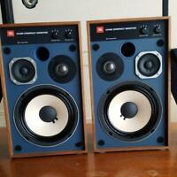 JBL MODEL 4312M Compact Monitor Speaker 3WAY Speaker System 2 Small Speakers Set
