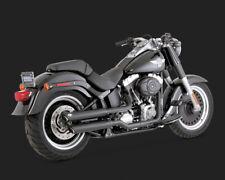 Vance & Hines TWIN ou Slip-Ons noir, f. Harley-Davidson Fatboy 07 - 16