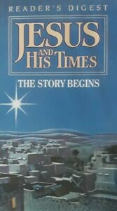 Jesus And His Times-The Story Begins VHS Video.1991 Reader's Digest RDV 87 066/1