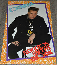 NEW KIDS ON THE BLOCK - DONNIE! 1989 ORIGINAL 22x34 GLAMOUR PINUP POSTER!