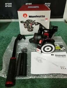 Manfrotto Nitrotech MVHN8AHUS FLUID VIDEO HEAD