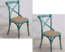 Sedie Vintage Colorate : Sedie verdi legno massello regali di natale su ebay