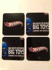 Hot Wheels Camaro Big Boys Deserve Big Toys Coasters- New