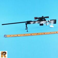 Shirley Snow Queen - White Camo Sniper Rifle #2 - 1/6 Scale Flagset Figures