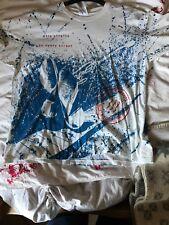 "Rare Dire Straits World Tour T shirt 92 On Every Street 50"" Original Collectors"