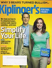 KIPLINGER'S Personal Finance (magazine) June 2009 - Simplify Your Life