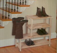 GRANDE ETAGERE SUPPORT ARMOIRE CHAUSSURES BOTTES RANGEMENT NEUF BUFFET ENTREE 81