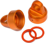 HPI Racing 108070 Orange Aluminum Top Shock Cap, for the Savage Xs 2pcs