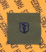 USAF Air Force Physician Medical Qualification OD Green & Blue badge patch