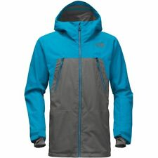 The North Face Mens Lostrail Gore-tex Shell Ski Snowboarding Jacket Grey Blue M