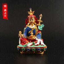 Tibetan Buddhism Hand painting resin statue Car decoration Padmasambhava