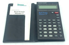 Calculated Industries Real Estate Master II Calculator W/ Case & Manual