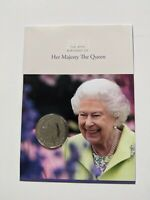2021 UK Queens 95th Birthday £5 Pound Coin Brilliant Uncirculated In Sealed Card