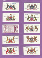 Arms/Crests Loose Collectable Will's Cigarette Cards
