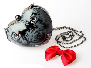 IRON FIST You Ripped My Heart Out Werewolf Purse Hardshell Bag Clutch RARE NWT