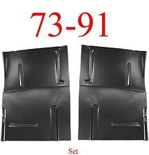 73 91 Chevy Blazer Large Floor Pan Set, GMC Jimmy Suburban 0850-223, 0850-224