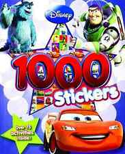 Disney Pixar Characters 1000 Stickers Book (Cars, Monsters & Toy Story)